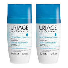 Uriage, deodorant roll-on paket (2 x 50 ml)