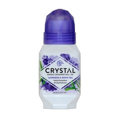 Crystal essence mineralni deo roll-on, sivka in beli čaj (66 ml)