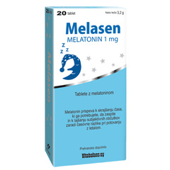 Melatonin Melasen 1 mg Vitabalans, tablete (20 tablet)