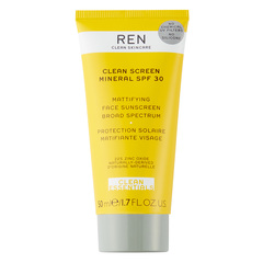 Ren Clean Screen Mineral, mineralna krema za obraz - ZF 30 (50 ml)