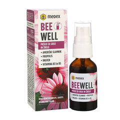 Be Well Pršilo za grlo Ameriški Slamnik, Medex (20 ml)