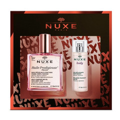 Nuxe Christhmas Love Affair, darilni set (100 ml + 30 ml)