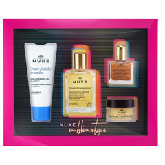 Nuxe Best Seller, darilni set (30 ml + 15 g + 30 ml + 10 ml)