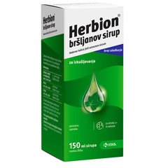 Herbion Bršljanov Sirup, Krka (150 ml)