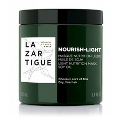Lazartigue Nourish Light, lahka negovalna maska za lase (250 ml)