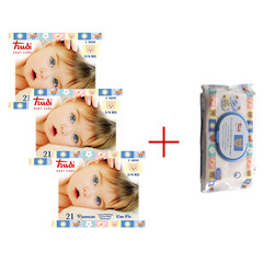 Trudi Baby Care Dry Fit Mini (3-6 kg), paket (3 x 21 plenic)