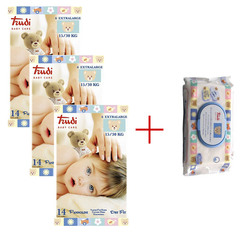 Trudi Baby Care Dry Fit Extra Large (15-30 kg), paket (3 x 14 plenic)