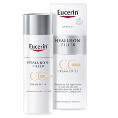Eucerin Hyaluron-Filler, CC krema - light (50 ml)