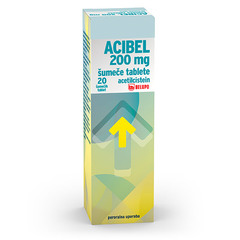 Acibel 200 mg, šumeče tablete (20 tablet)