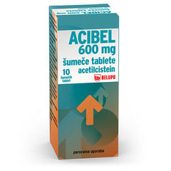 Acibel 600 mg, šumeče tablete (10 tablet)