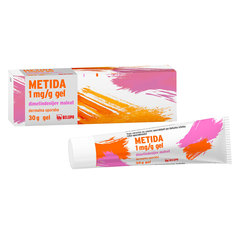 Metida 1 mg/ml, gel v tubi (30 g)