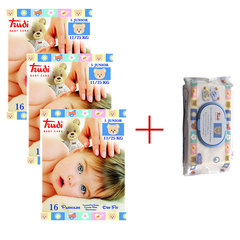 Trudi Baby Care Dry Fit Junior (11-25 kg), paket (3 x 16 plenic)