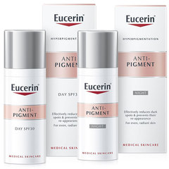 Eucerin Anti-Pigment, set za nego kože (2 x 50 ml)