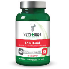 Vet's Best Skin & Coat, tablete za pse (60 tablet)