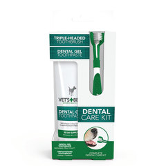 Vet's Best Dental Care, set (gel 103ml & zobna ščetka)