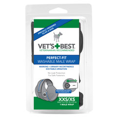 Vet's Best Perfect Fit, pralne plenice za samce XXS/XS (1 plenica)