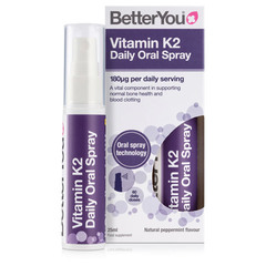 Betteryou Vitamin K2, pršilo (25 ml)
