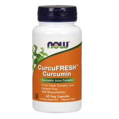 NOW CucruFresh Kurkumin 500 mg, kapsule (60 kapsul)