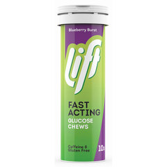 Lift Fast Acting, glukozne tablete - Borovnica (10 x 4 g)
