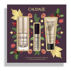 Caudalie Premier Cru The Ritual of Absolute Youth, darilni set (15 ml + 10 ml + 15 ml)