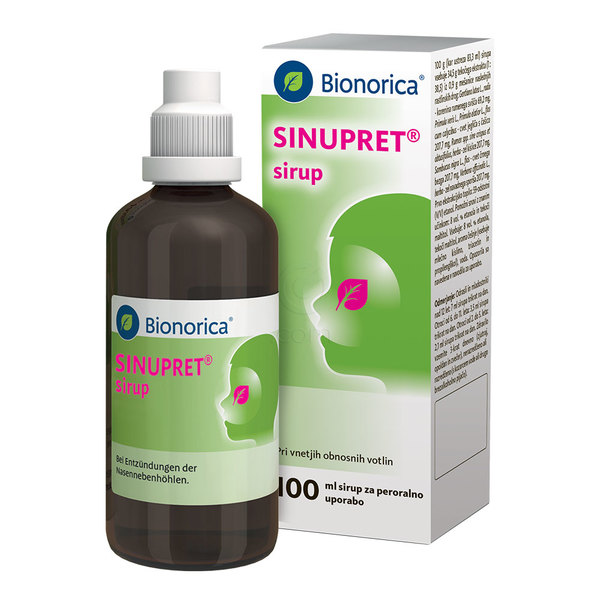Sinupret, sirup (100 ml)