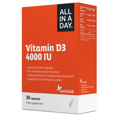Sensilab All in a Day Vitamin D3 4000 IU, kapsule (30 kapsul)