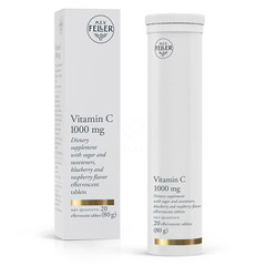 M.E.V. Feller Vitamin C 1.000 mg, šumeče tablete (20 tablet)