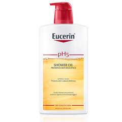 Eucerin pH5, olje za prhanje s pumpico (1000 ml)