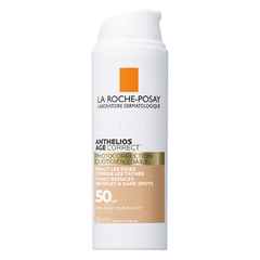 LRP Anthelios UV Daily Anti Age, obarvana krema za obraz - ZF50 (50 ml)