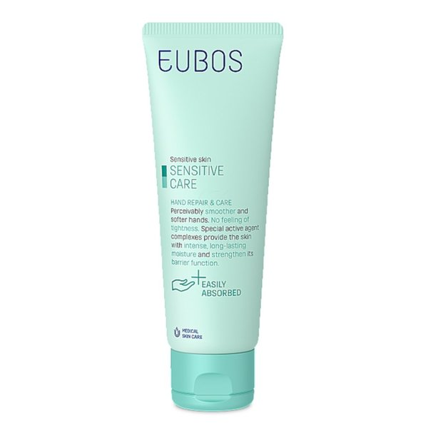 Eubos Sensitive, krema za roke repair&care (75 ml)