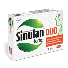 Sinulan Duo Forte, tablete (30 tablet)