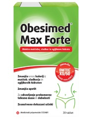 Obesimed Max Forte, tablete (30 tablet)