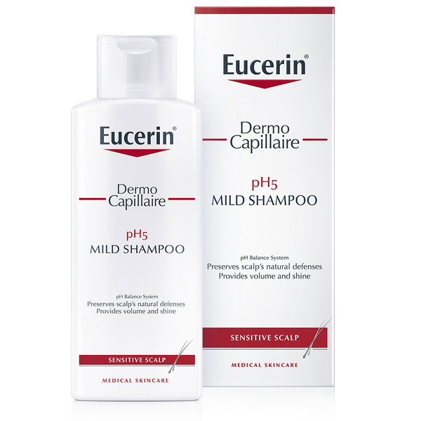 Eucerin DermoCapillaire pH5, šampon (250 ml)