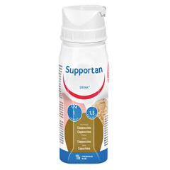 Supportan, okus cappuccino (4 x 200 ml)