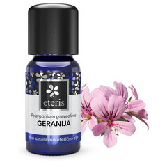 Eteris, eterično olje geranija (10 ml)