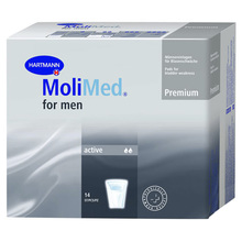 MoliMed for Men Active, predloge za moške