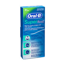 Oral-B Super Floss, zobna nitka