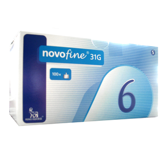 NovoFine 6 mm, igle