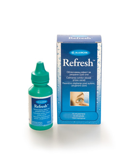Refresh contacts, kapljice za oči (15 ml)