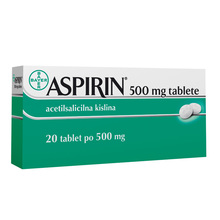 Aspirin 500, 20 tablet