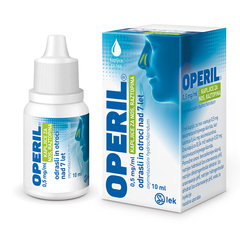 Operil 0,5 mg/ml kapljice za nos, raztopina (10 ml)