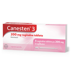 Canesten 3 200 mg, vaginalne tablete (3 tablete)